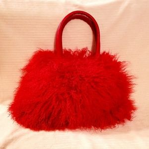 d56df215f05c Women s Mongolian Fur Handbag on Poshmark
